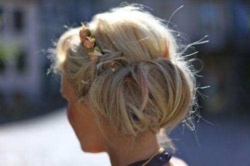 Pin by megan green gomez on See Jane Bun | Hair inspiration, Bridesmaid hair
