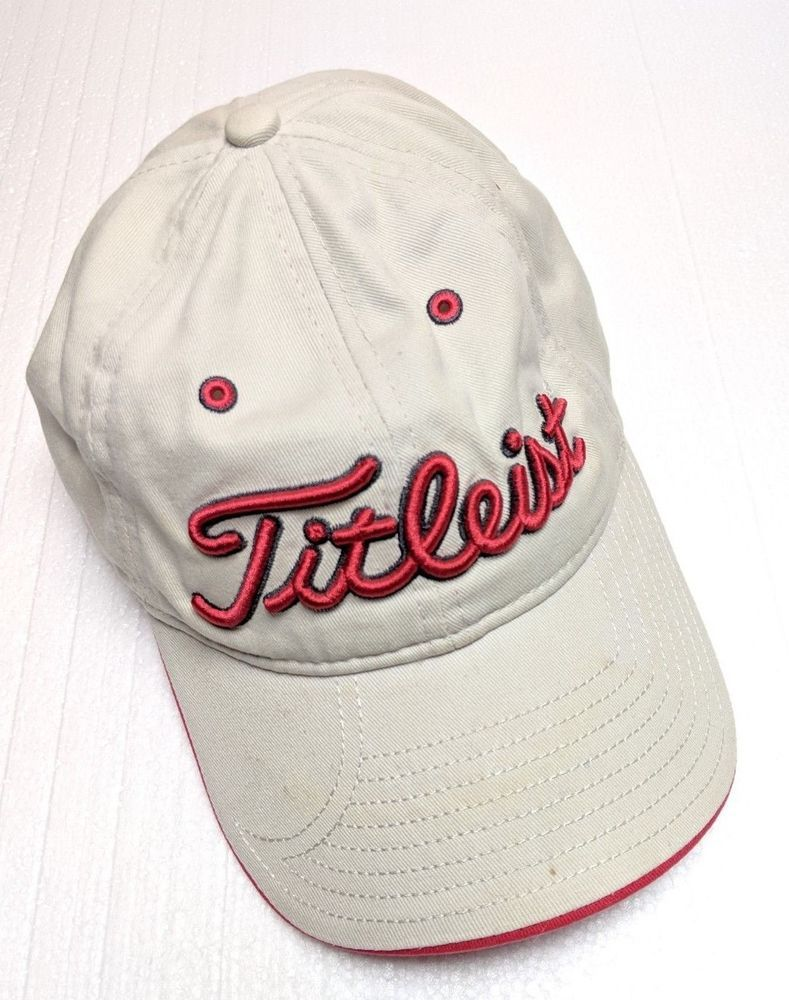 4635dc08b12 Titleist Adjustable Baseball Golf Cap Hat Great Condition  fashion   clothing  shoes  accessories  unisexclothingshoesaccs  unisexaccessories  (ebay link)