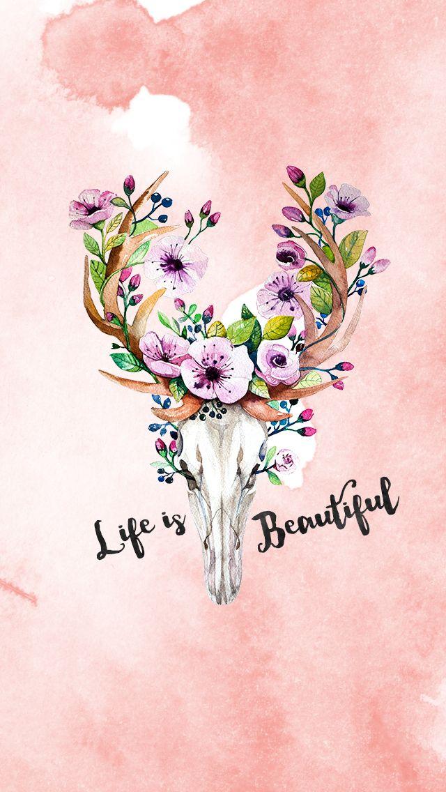 Free Watercolor Iphone 5s Wallpapers Com Imagens Imagem De