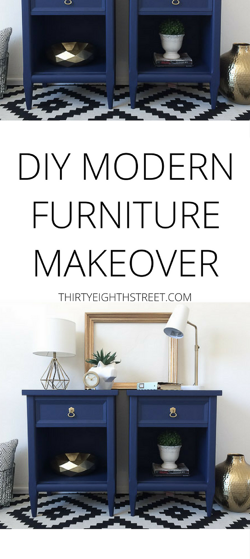 Gorgeous modern diy furniture makeover paint your old furniture for a modern sleek look diy modern furniture diy painted furniture blue furniture ideas