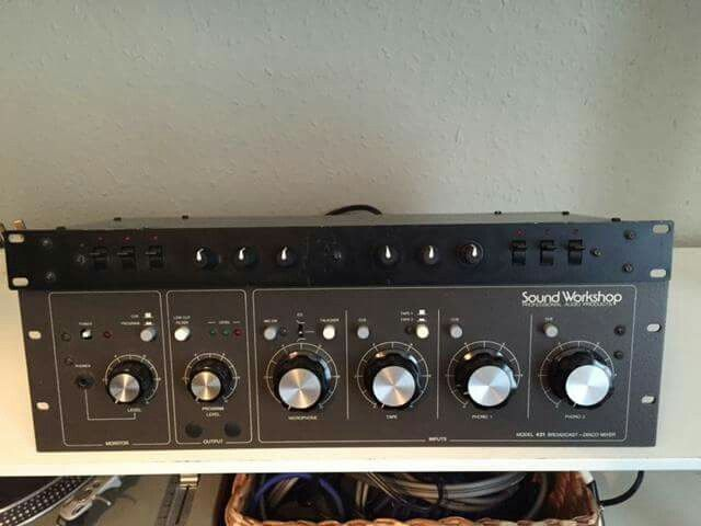 Sound Workshop Model 421 broadcast disco mixer | Mixers in