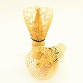 Batidor de mano de bambú para té matcha