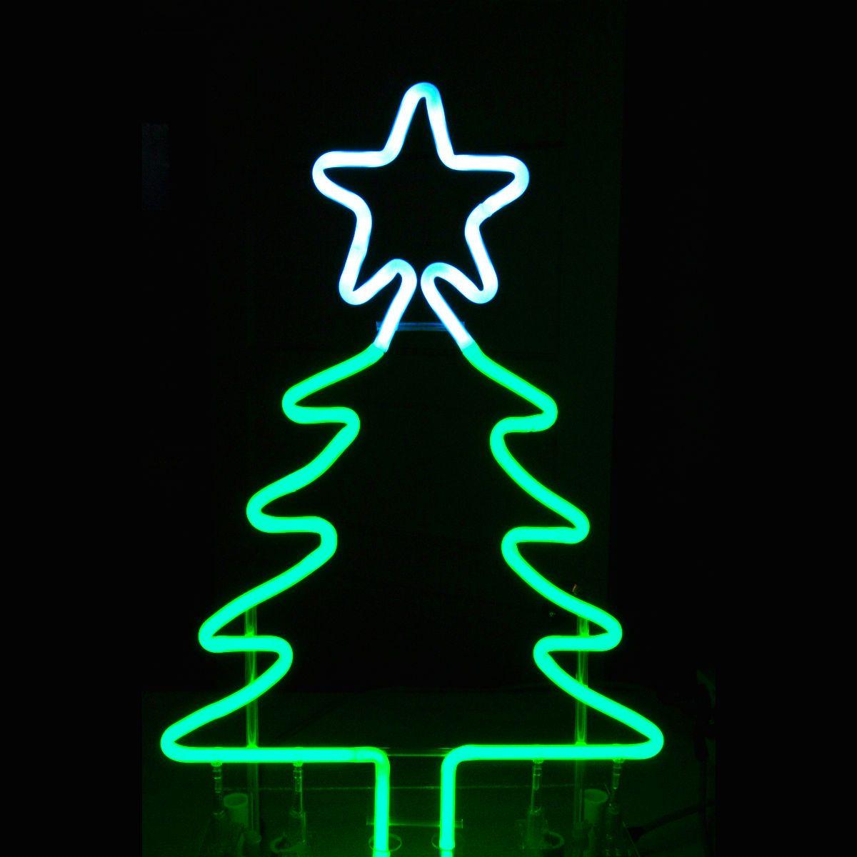Merry Christmas Christmas Phone Wallpaper Neon Christmas Tree Art