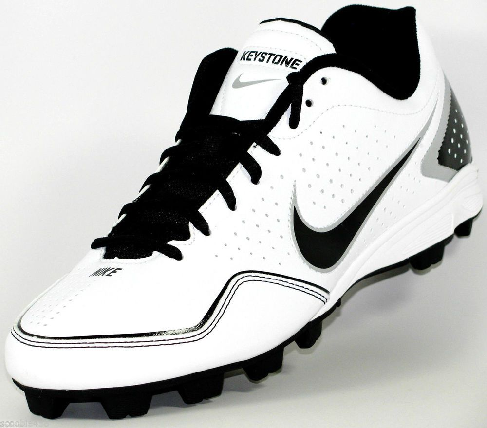 timeless design f1bd3 c825f Mens Nike Keystone Low Molded Baseball Softball Cleats Size 10