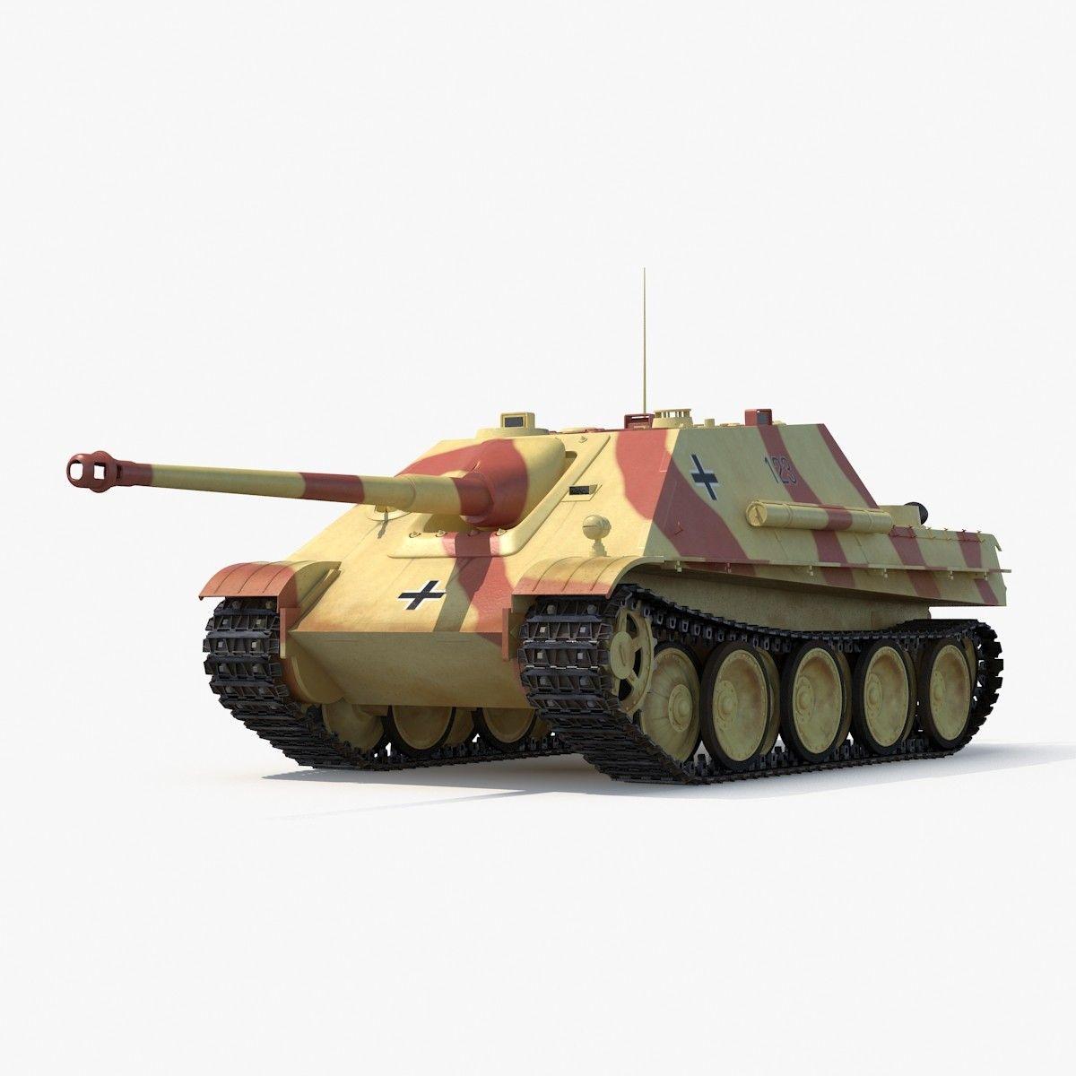 3d model jagdpanther tank destroyer   Военная техника   Pinterest ...