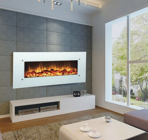 Ivory 80002 50 Wall Mounted Electric Fireplace Wall Mounted Fireplace Wall Mount Electric Fireplace Wall Mounted Electric Fires