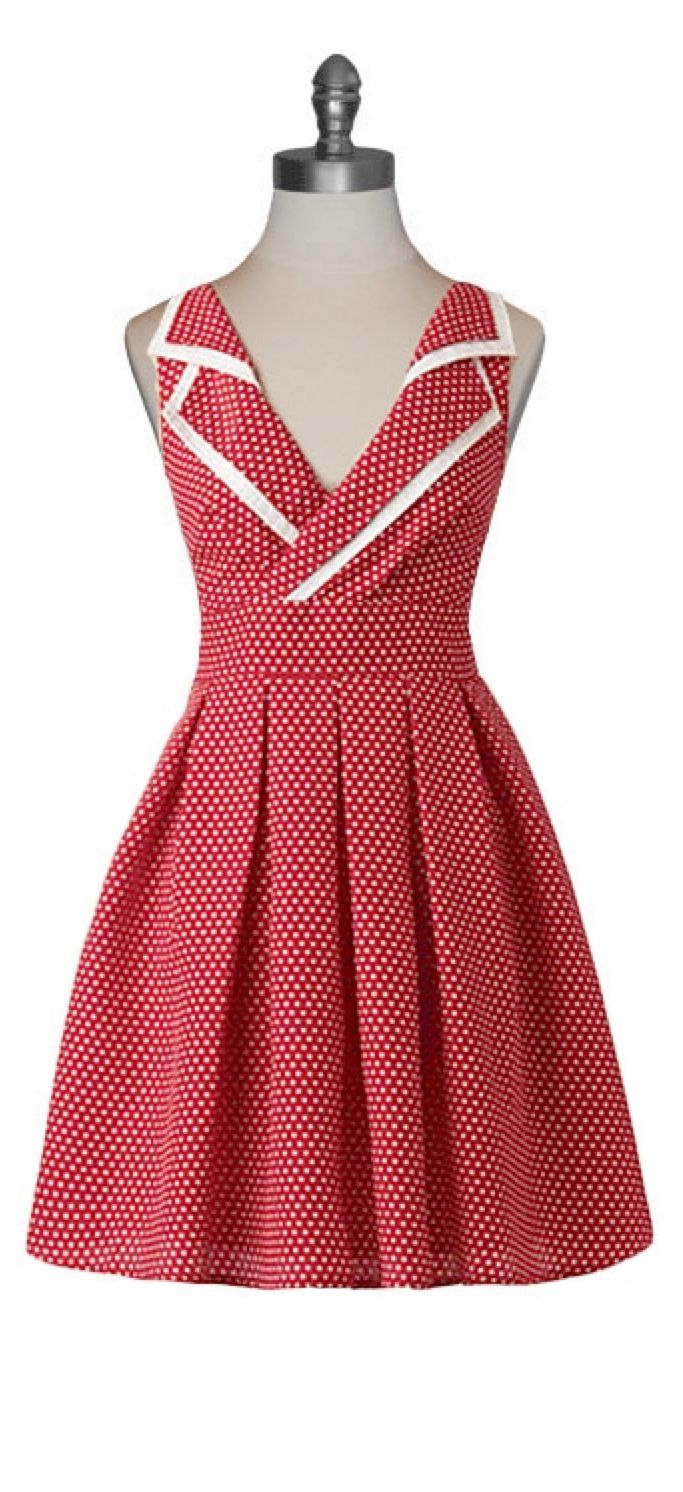 Country Fair Dress #retro #pinup #50s #vintage | Sewing ideas ...