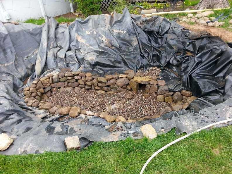 How To Build A Pond Ponds Backyard Fish Pond Gardens Water Garden