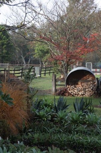 Michael Cooke Garden Design Rural Property In Autumn Australian Native Garden Native Garden Gardening Design Diy