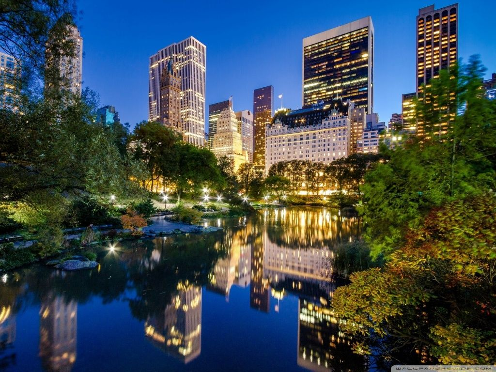 Central Park HD desktop wallpaper : Widescreen : High Definition