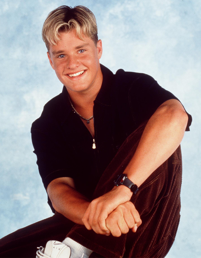 Remember Frosted Tips Zachery Ty Bryan As Brad From Home