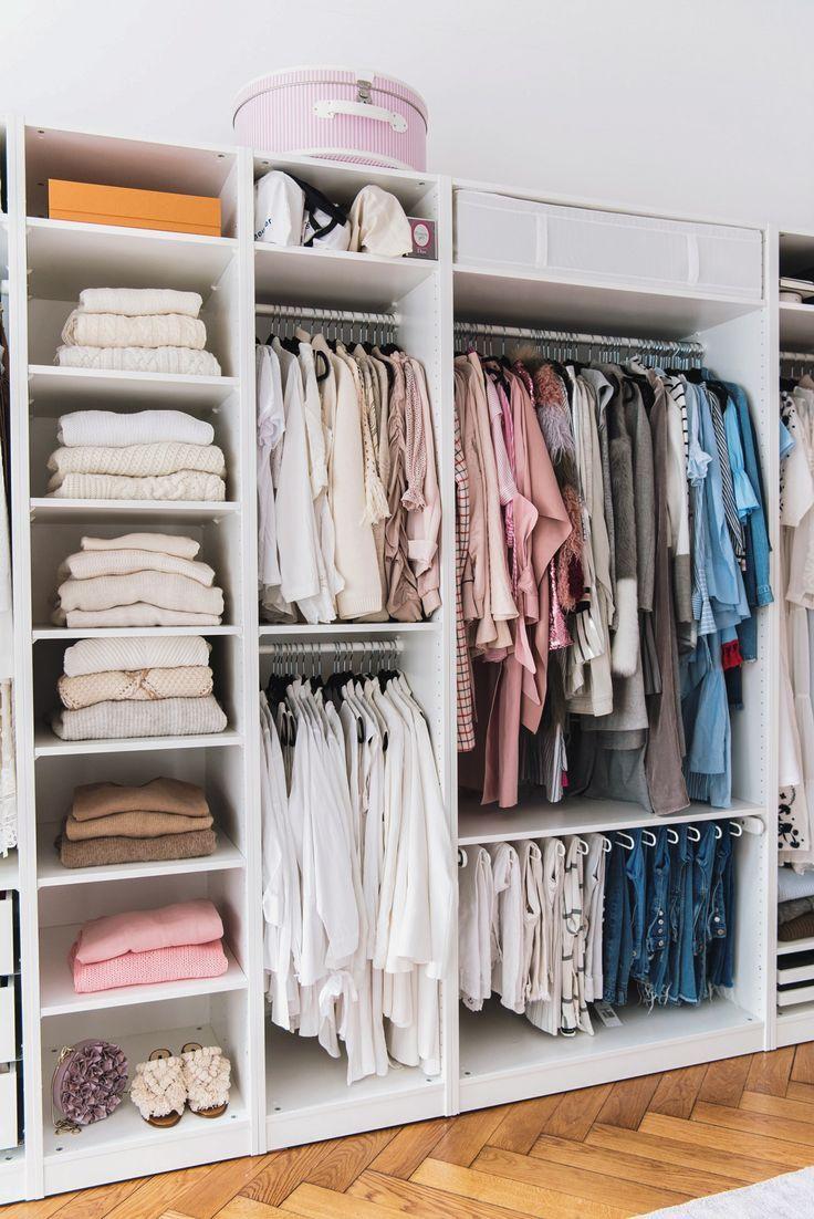 Tipps Kleiderschrank Organisieren Und Aufraumen Begehbarer Kleiderschrank Mobel Begehbarer Kleiderschrank Und Offener Kleiderschrank Ikea