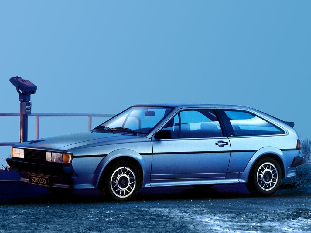 1984 Volkswagen Scirocco GTX