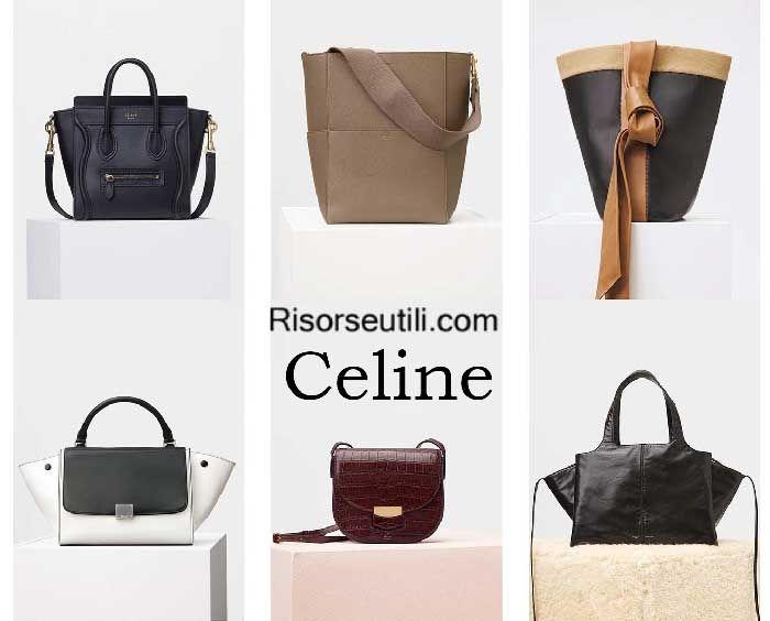 Bags Celine Fall Winter 2017 Womenswear Handbags