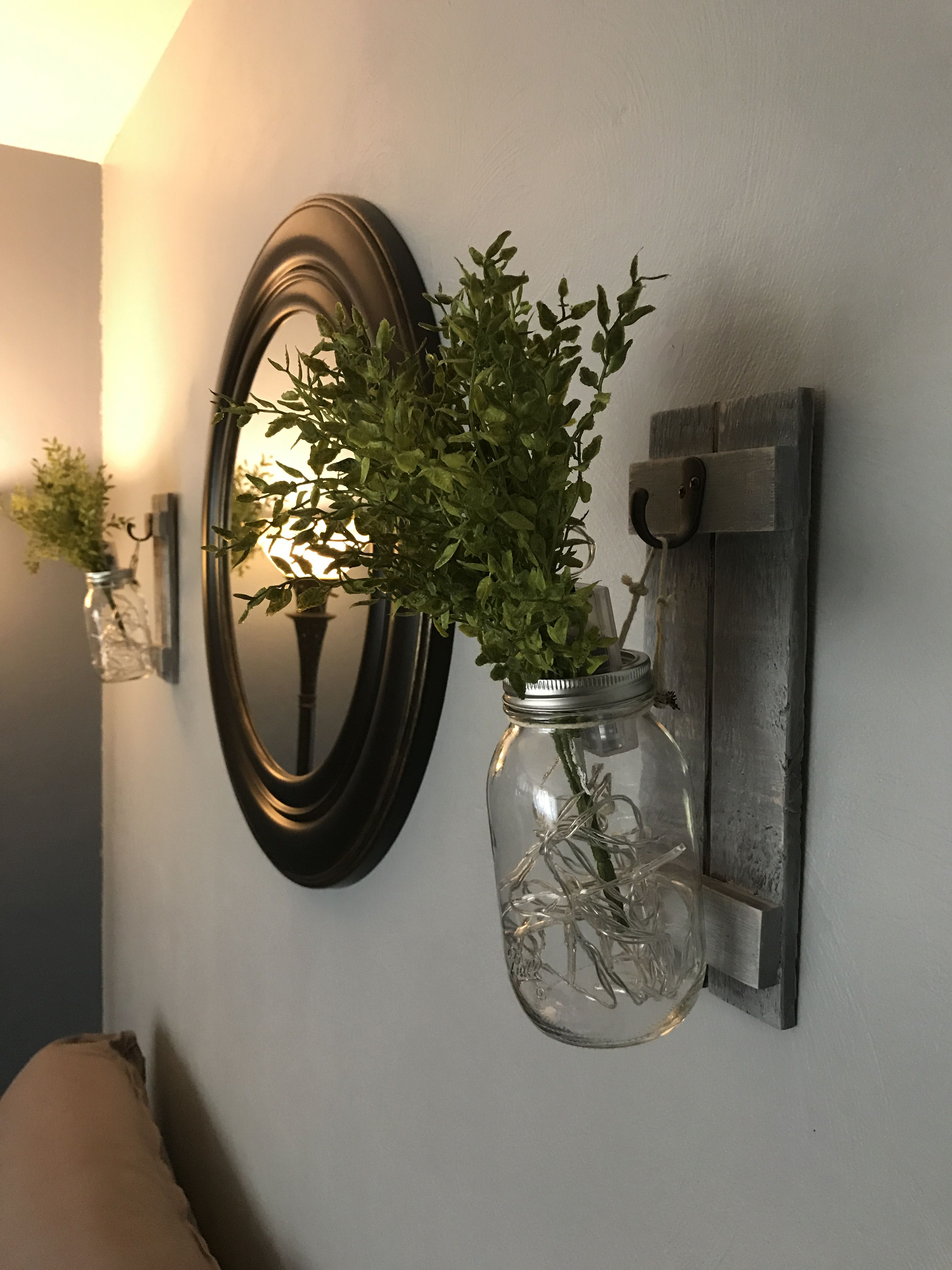 Hanging Wall Lights For Bedroom Mason Jar Wall Sconce Wall Sconces Bedroom Bedroom Diy