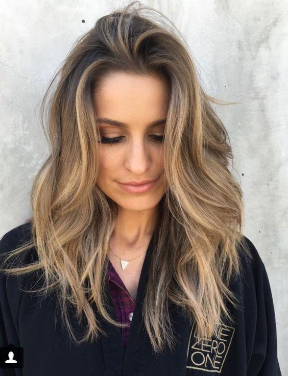фото волос средней длины