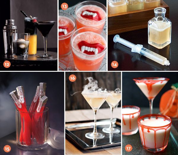 20+ Spooky Halloween Cocktail and Punch Recipes » Curbly DIY - halloween cocktail ideas