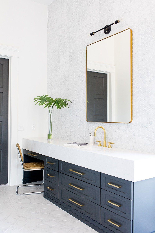 CYBER MONDAY DEALS | Interiors, Navy bathroom and Bathroom cabinets
