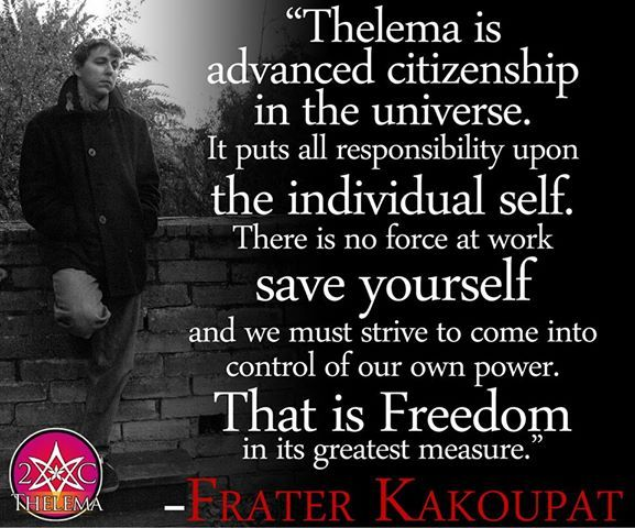 Image result for thelema quotes