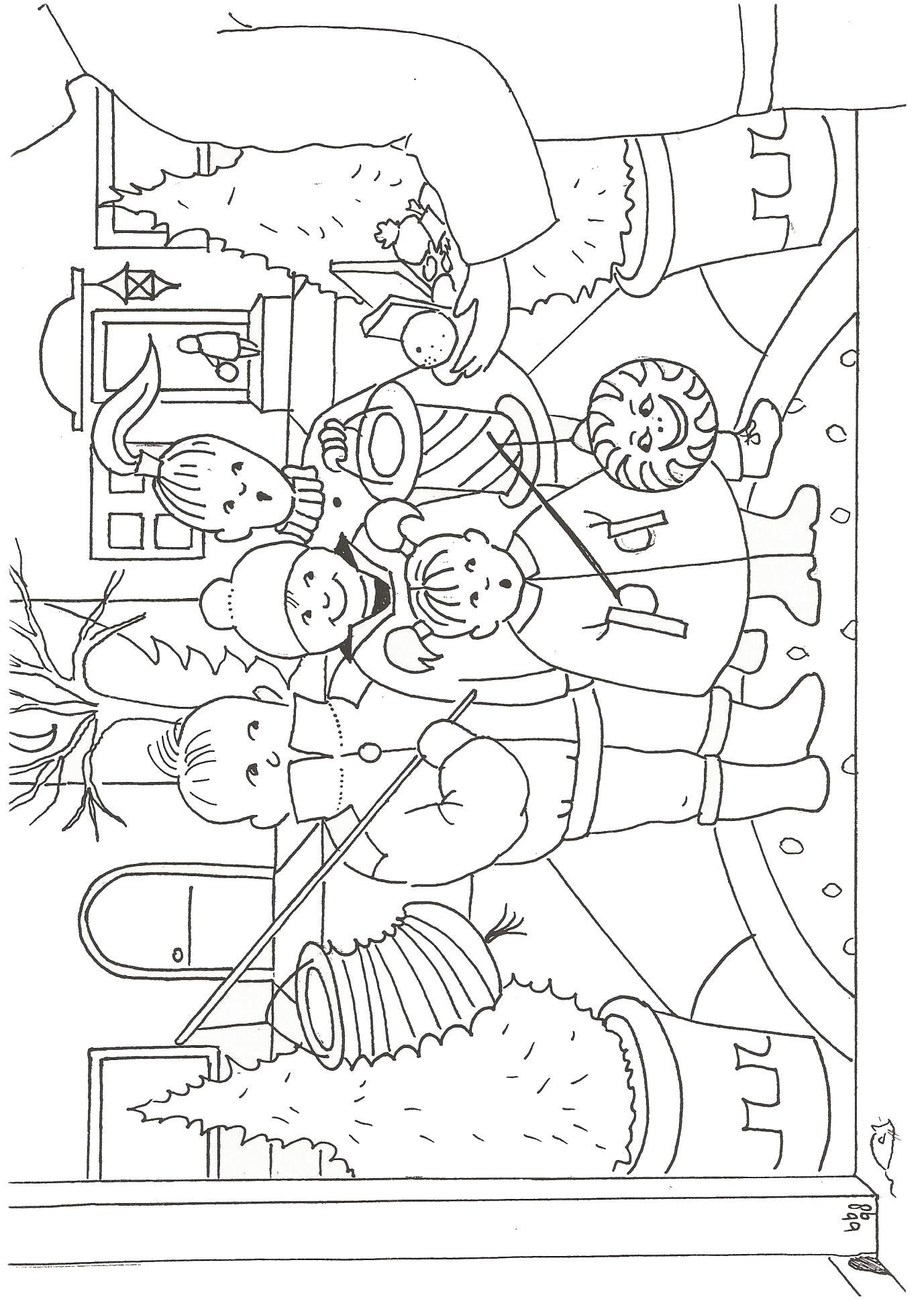 21 coloring pages of st maarten  sint maarten