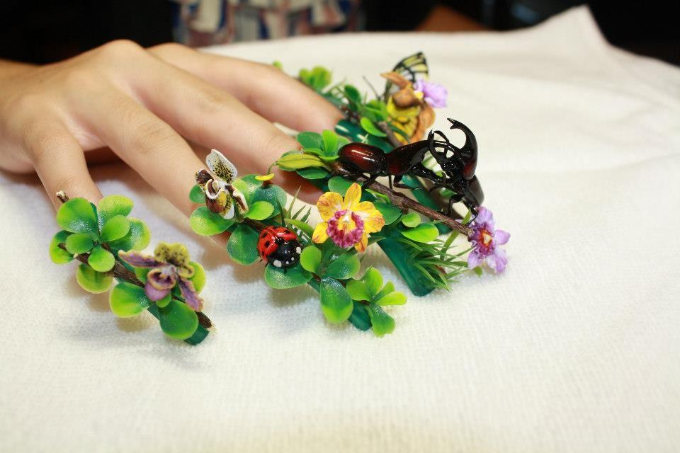 Nail Art by Pisut Masanong #nail #nails #nailart | nails | Pinterest ...