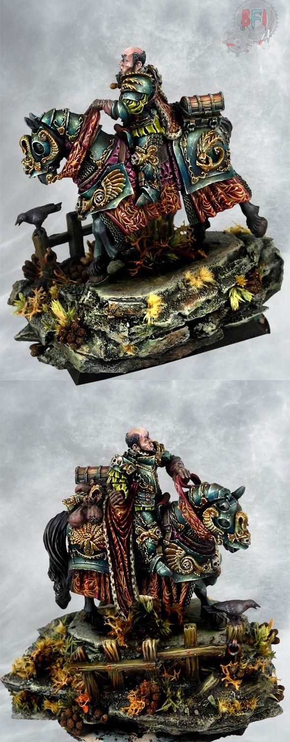 cool Warhammer fantasy figure.