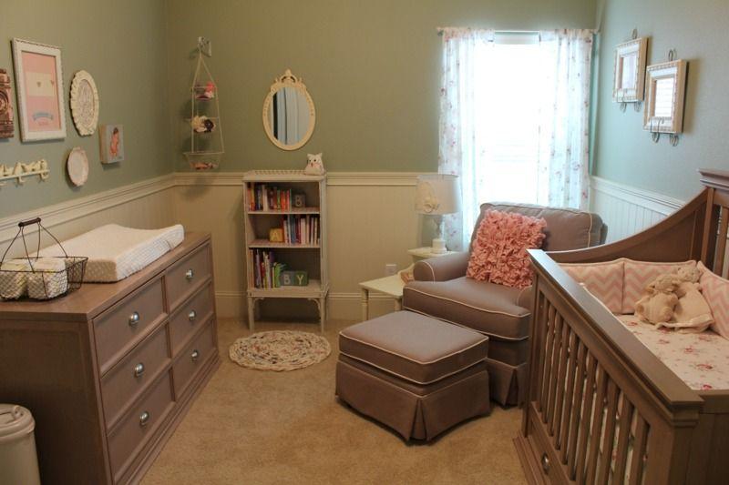 Das Babyzimmer Für Mädchen Romantisch Einrichten