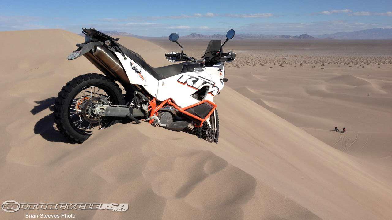 best adventure motorcycle 2013: ktm 990 adventure baja
