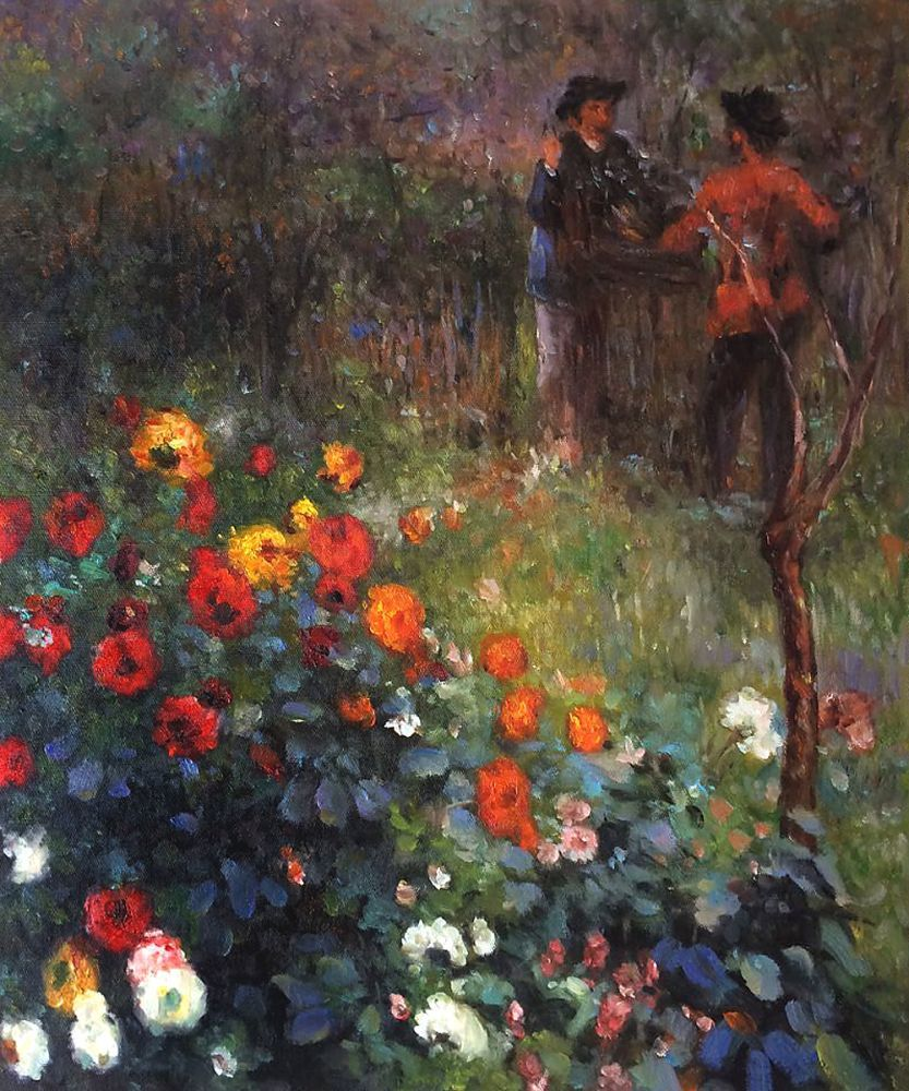Image result for renoir garden in the rue cortot