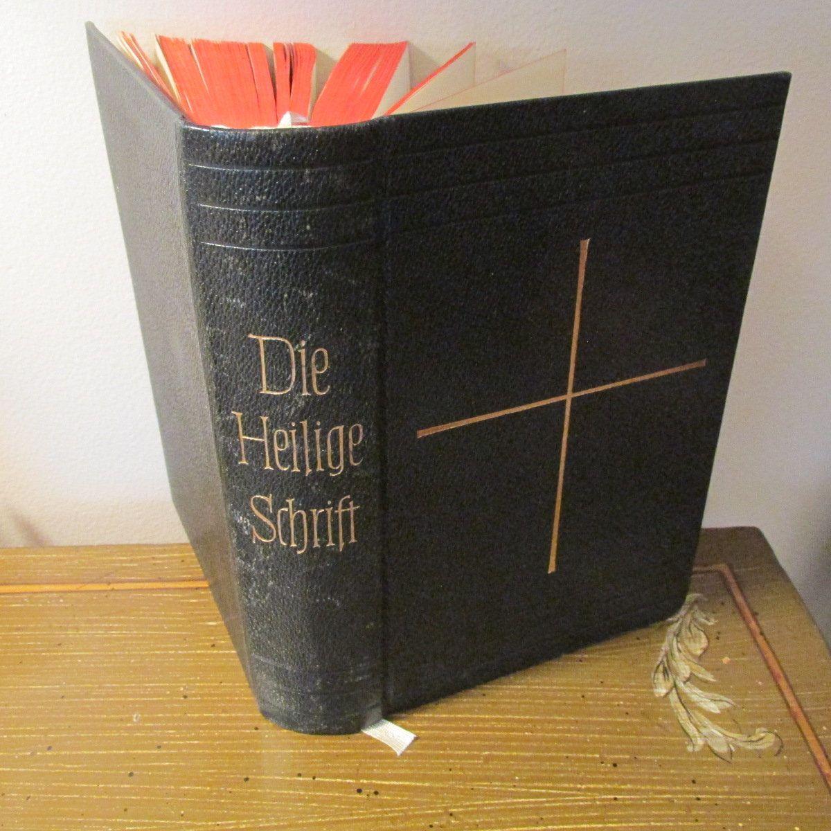 Die Bibel Oder Die Ganze Heilige Schrift, D. Martin Luthers (German Bible)