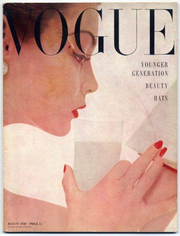 British Vogue August 1950 Cecil Beaton Picasso Barcelona