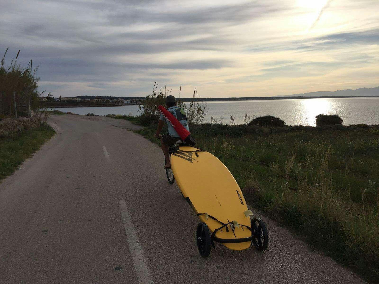 Mobile Carry Rack for Kayak Paddleboard Bike Sup Wheels Evolution SUP Carrier