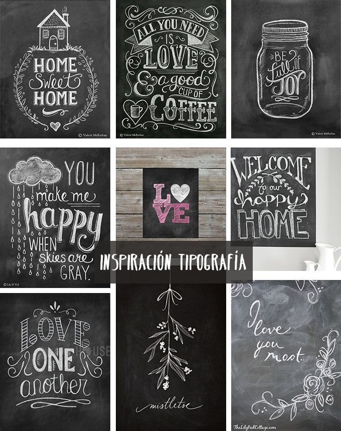 Chalk Calligraphy And Art Painting