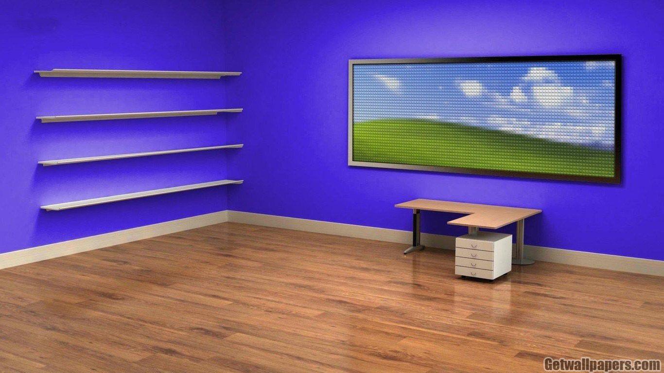 3d Wallpapers Hd Creative With Desktop Icons Em 2020 Papel De Parede Pc Papel De Parede Escritorio Papeis De Parede