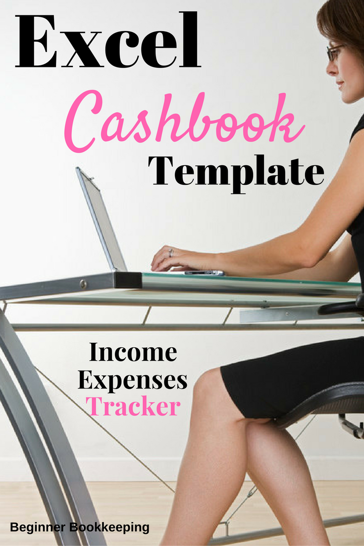 Excel Cash Book For Easy Bookkeeping Business Expense Tracker Expense Tracker Excel Bookkeeping