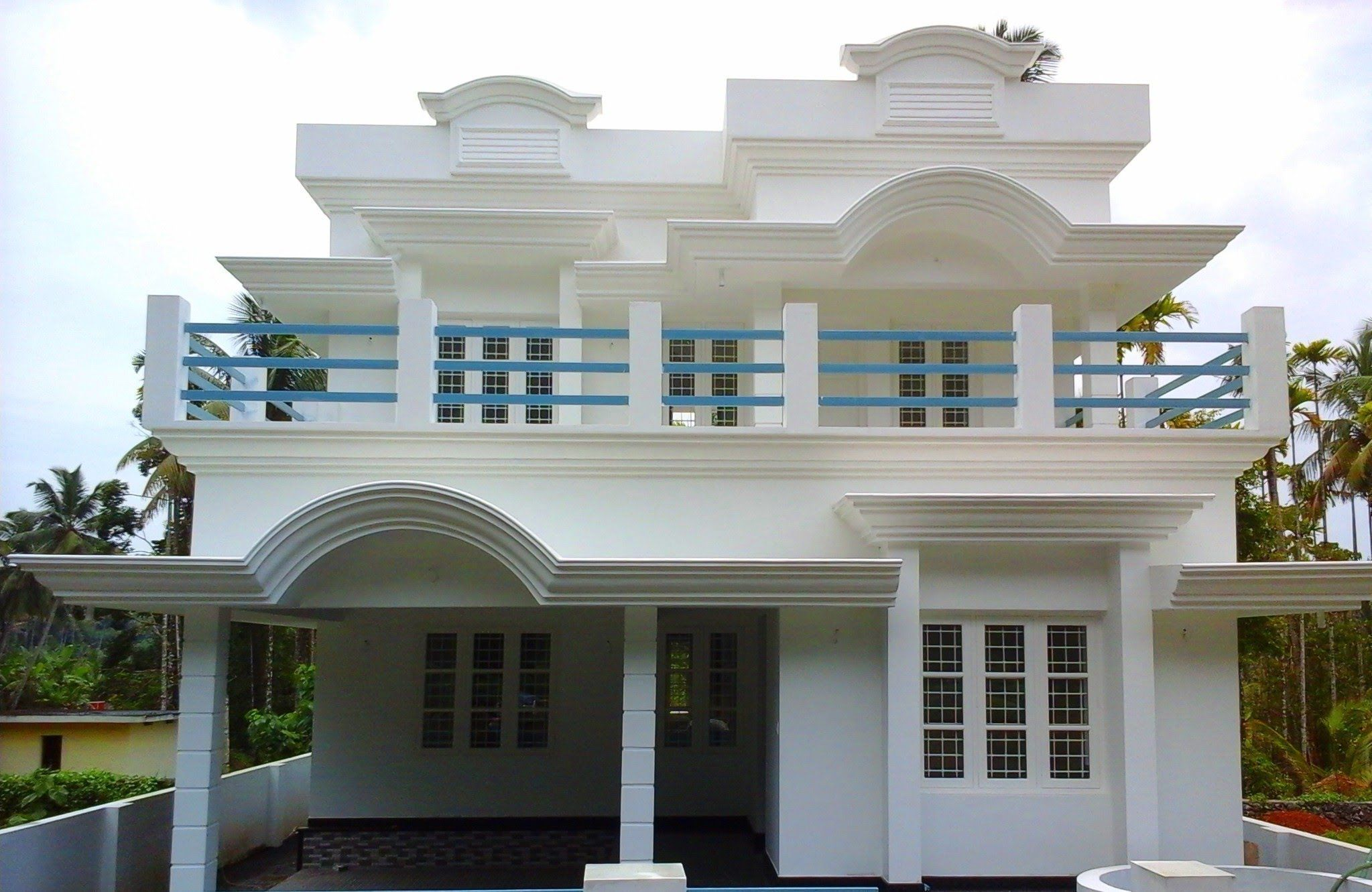 1000 Sq Ft Indian House | Modern house plans, Village ...
