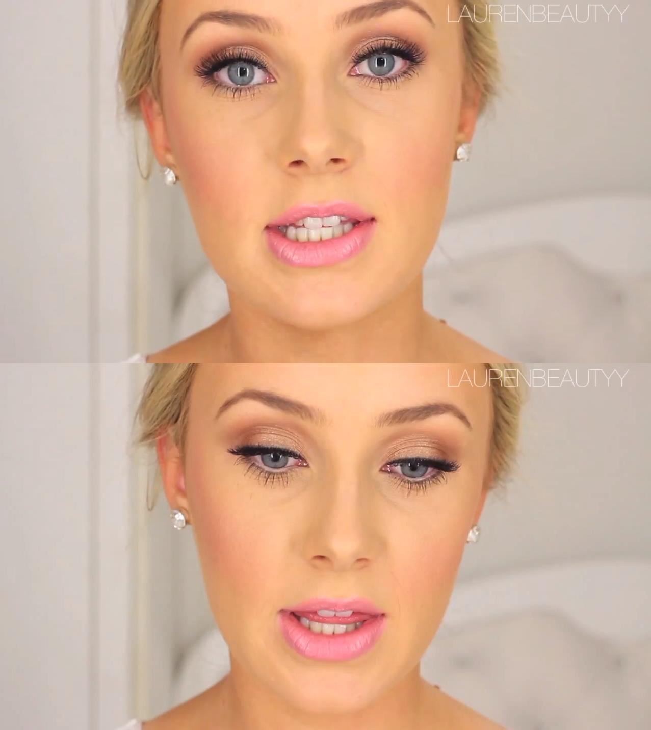 bridal makeup by laurenbeautyy | wedding makeup | pinterest