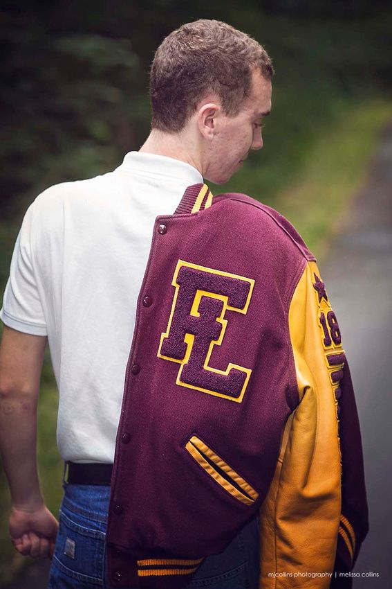 Senior Boy Letter Jacket High School  Snap My Photography