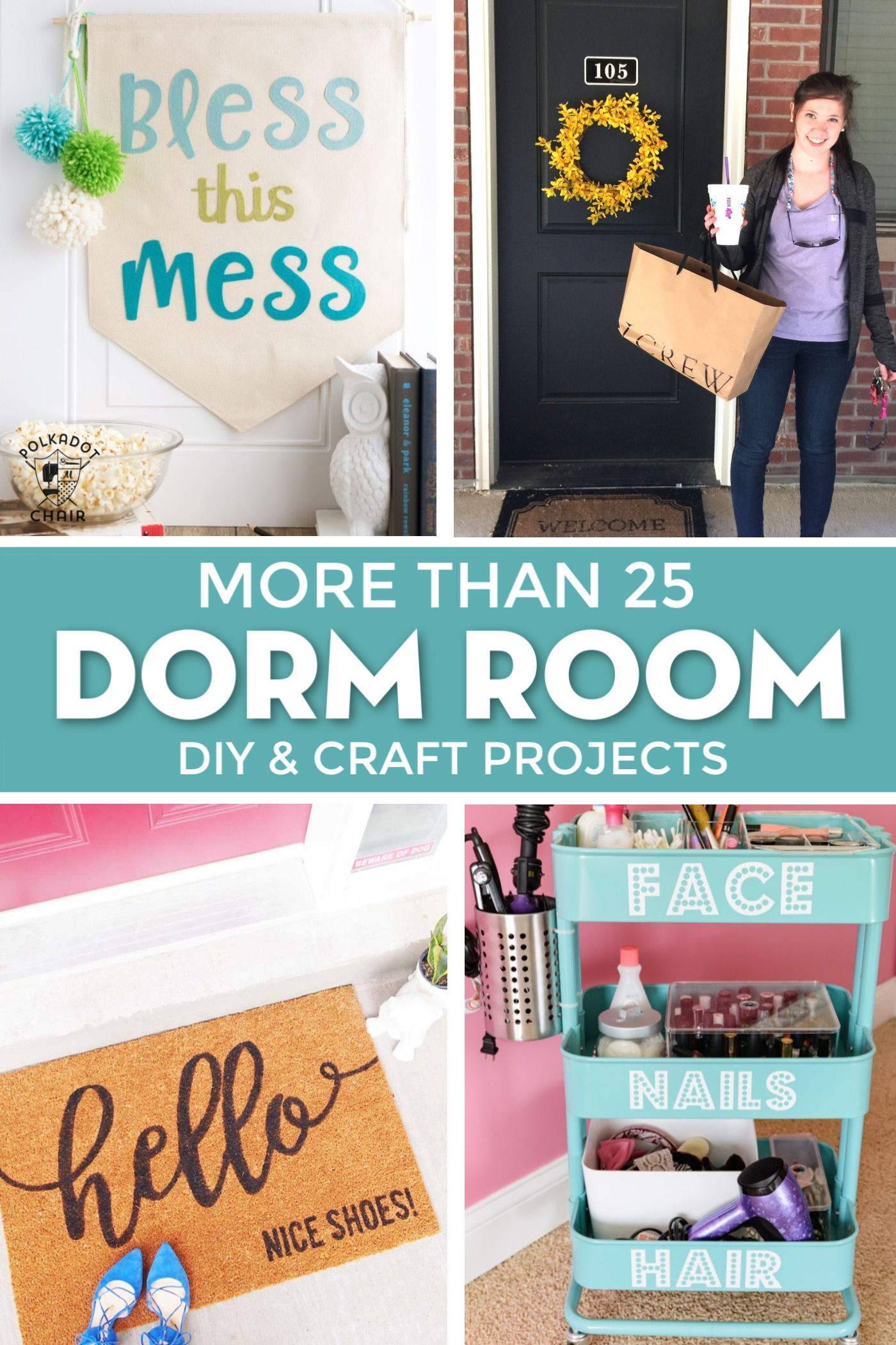 25 Cricut Diy Projects For The Best Dorm Room Decor Dorm Room