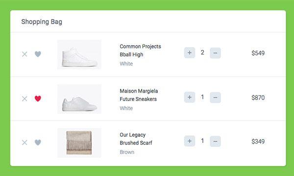 How to Create a Shopping Cart UI using CSS & JavaScript | UI