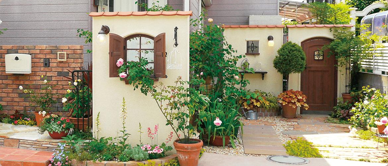 ディーズパティオ 素敵な南欧風中庭のアイテム ガーデンドア