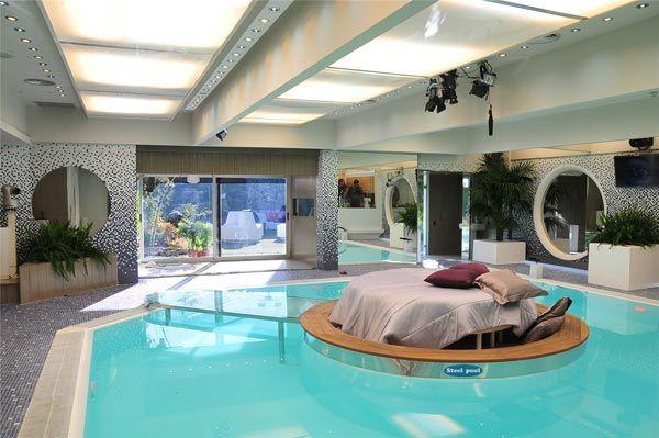 piscinas dentro de casa Arqui locuras Pinterest House