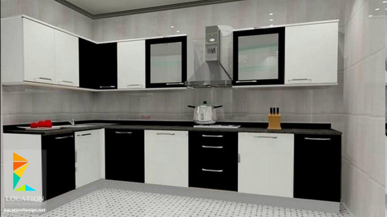انواع المطابخ الالوميتال لوكشين ديزين نت Kitchen Cupboard Designs L Shaped Kitchen Designs Kitchen Furniture Design