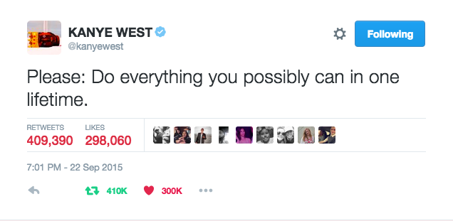 Pin By Openminddid On Tweets With Images Kanye West Kanye Do Everything