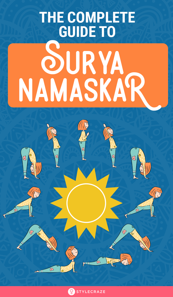 The Complete Guide To Surya Namaskar Or Sun Salutation In 2020 Surya Namaskar Complete Body Workout Yoga Master