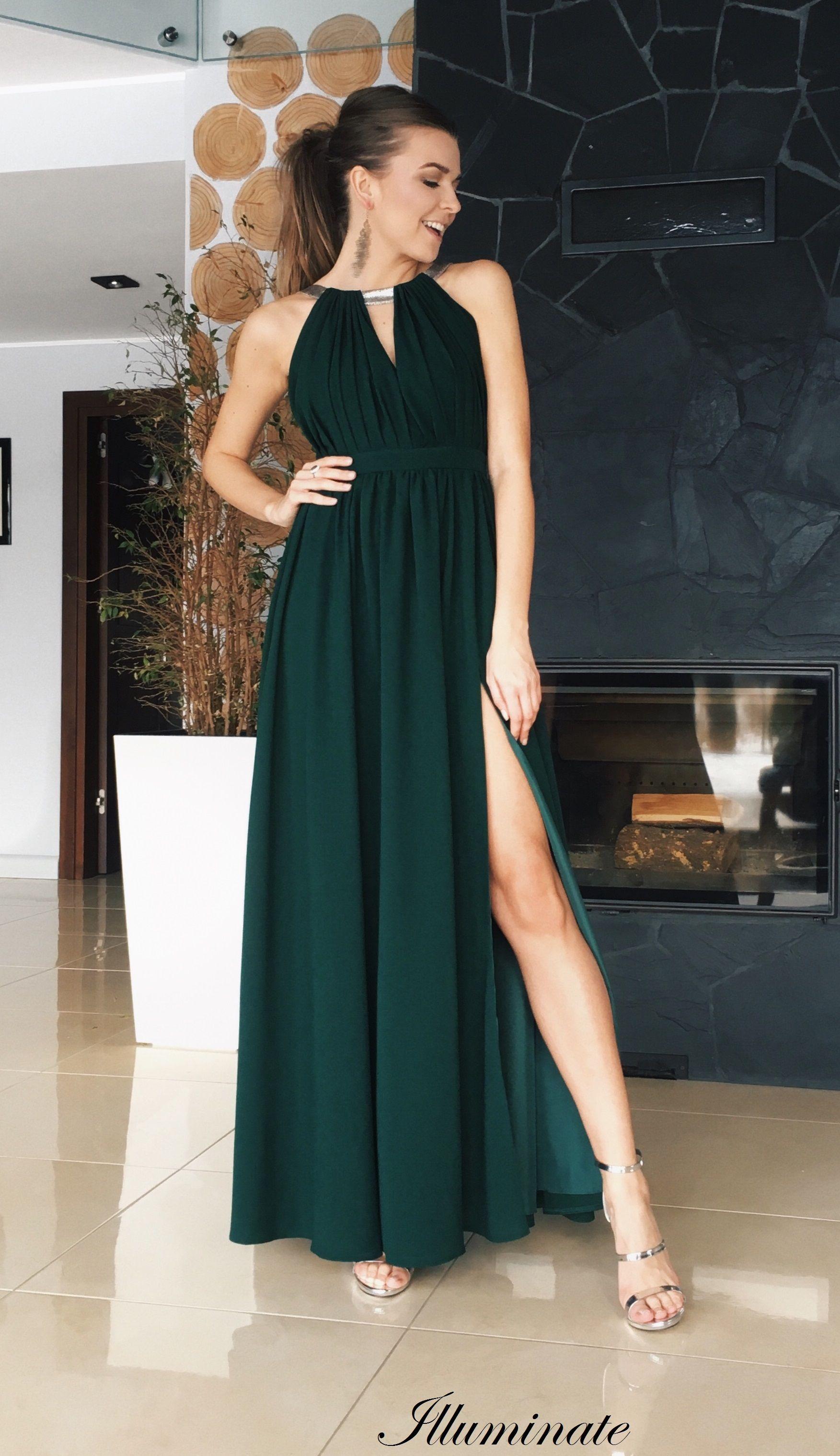 9cc4c12bf7 Elisa długa zielona sukienka  emeraldgreen  dress  sukienka  zielona   rzymianka  maxidress  swiadkowa  druhna