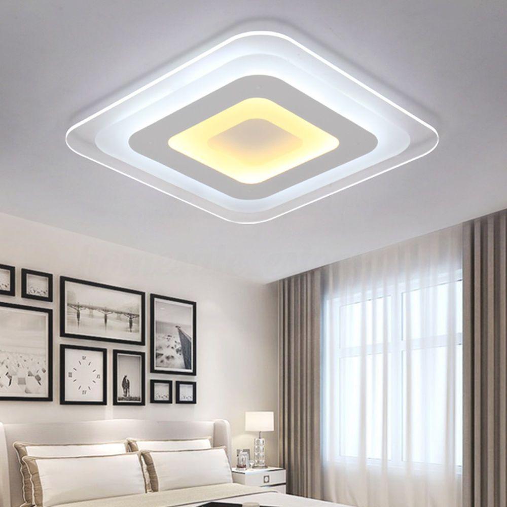 Power 52w 64w 12w Modern Ultrathin Led Lamp Flush Mount Ceiling