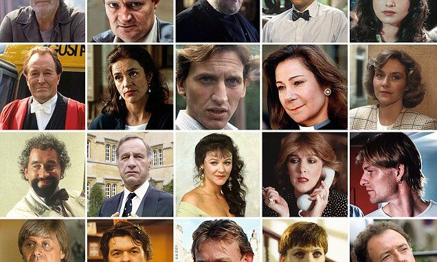 Can You Recognise The Inspector Morse Celebrity Guests Inspector Morse Robert Hardy Amanda Burton