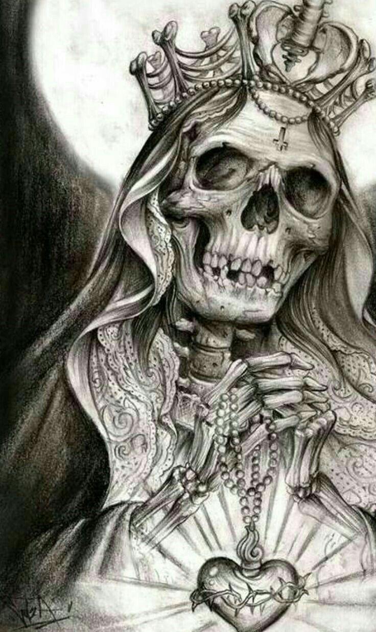 Tribal Santa Tatoo: Skull Rose Tattoos, Body Art Tattoos