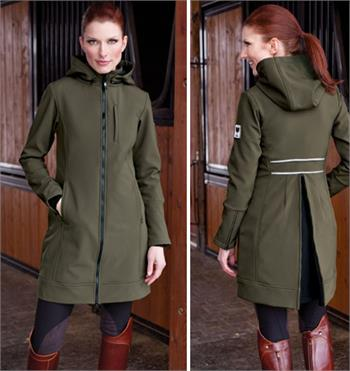 Equestrian Jacket Covers Your Saddle In The Rain Horse